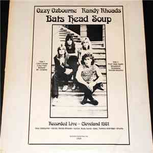Ozzy Osbourne With Randy Rhoads - Bats Head Soup mp3 flac